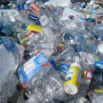 Pile of Used Plastic Bottles